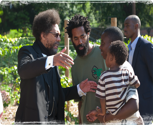 Dr. Cornel West meets Eugene's wife Jo'Vonna and his youngest son ...