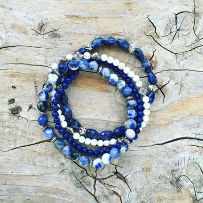 Deep Blue Ocean Bracelets